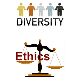 business ethics and diversity work place Diversity in the workplace research paper starter  work & the economy  diversity in the  a poultry business can claim to be diverse because a majority of its.